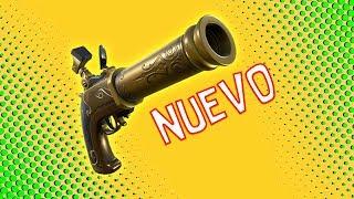 COMO FUNCIONA EL *NUEVO ARMA* PISTOLA DE MECHA, LA MEJOR ARMA SECUNDARIA | FORTNITE