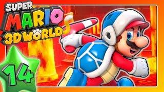 SUPER MARIO 3D WORLD 🐱 Part 14: Heiße Lava und eine Meinung über First Class Flüge