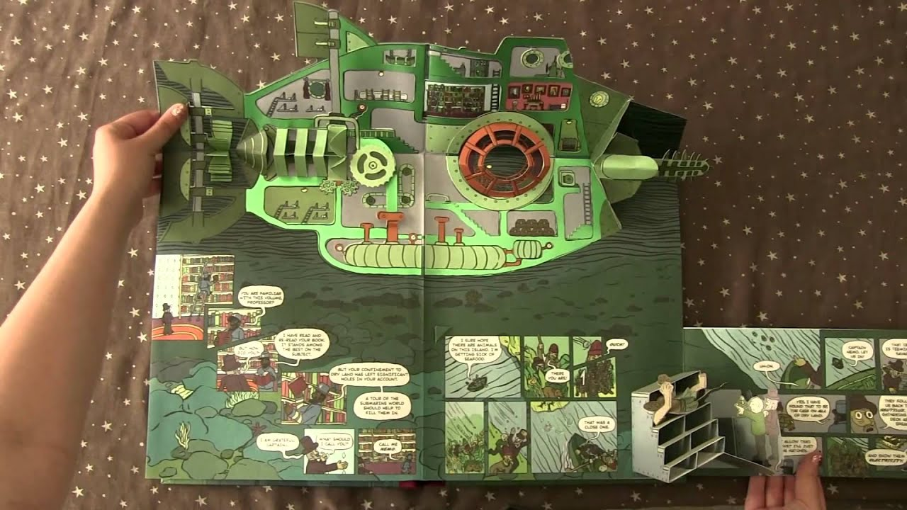 20 000 Leagues Under The Sea A Pop Up Book Recomendación Youtube
