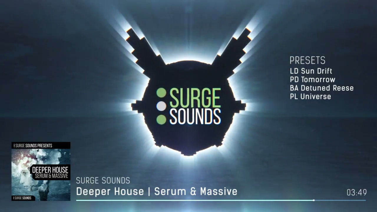 Deep House Presets for Xfer Serum & NI Massive