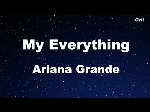My Everything - Ariana Grande Karaoke【With Guide Melody】