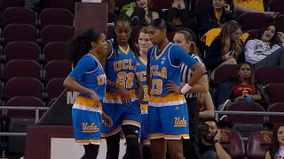 Recap: No. 13 UCLA women's basketball tops rival USC in Crosstown Showdown