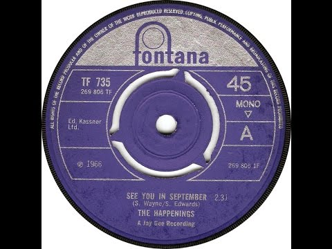 /pol/ exclusive - The Happenings: See You In September 1966 45 RPM
