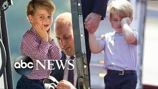 Prince George celebrates his 4th birthday