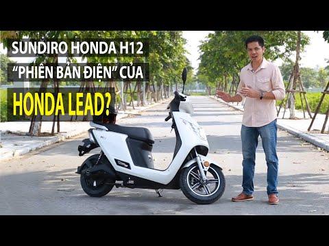 Đánh giá xe máy điện Honda H12