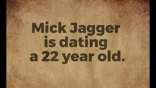 Mick Jagger is dating a 22 year old. - Preston & Steve's Daily Rush