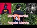 #35,The Weeknd Starboy Merch V.S Justin Bieber Purpose Tour Merchs