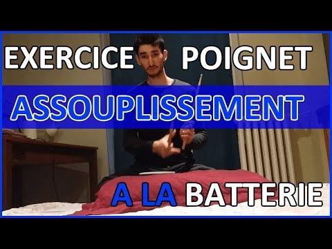 Assouplissement - EXERCICES POIGNETS pour Batteur + PDF