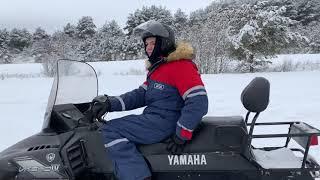 КОСМОНАВТЫ на СНЕГОХОДАХ! Зимние развлечения в КАРЕЛИИ, Петрозаводск.