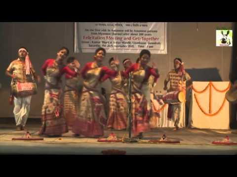 Assamese Bihu Dance ::::::  Sukaaphaa Xilpi Xamaaz