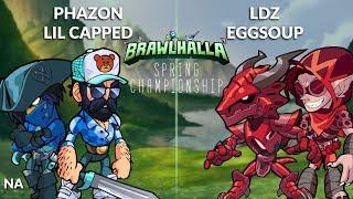 Phazon & Lil Capped vs LDZ & eggsoup - NA 2v2 Grand Finals - Spring Championship