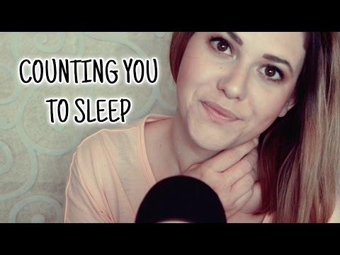 ASMR Einschlafen 🌜 Counting you to sleep in German and English ♡ Super close up whisper/soft spoken