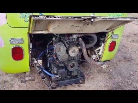 Thermo King D201 Diesel Volkswagen Hippie Bus Part 2