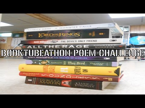 My Booktubeathon Poem