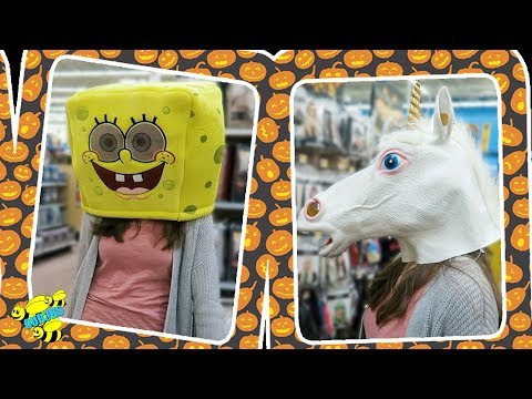 HALLOWEEN COSTUME SHOPPING thumbnail