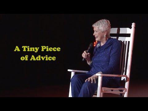 Jeanne Robertson | A Tiny Piece of Advice