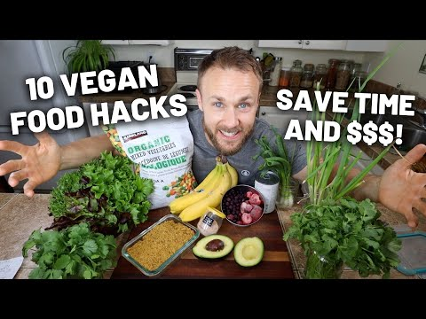 10 Vegan Food Hacks That Will Change Your Life! 💥🌱💪