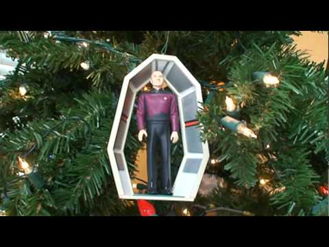 Star Trek Hallmark Christmas Ornaments Part 1 - YouTube