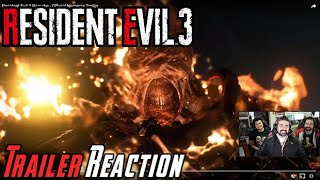 Resident Evil 3 Remake - Angry Trailer Reaction!