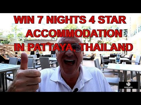 Subscribers Chance to Win 7 Nights 4 Star Accommodation in Pattaya   ! Vlog 353