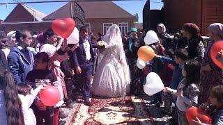 Свадьбы в Чечне. Красивая Свадьба в Катыр-Юрте 26.04.2017. Студия Шархан