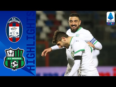 Crotone 1-2 Sassuolo | Caputo su rigore regala i tre punti a De Zerbi | Serie A TIM