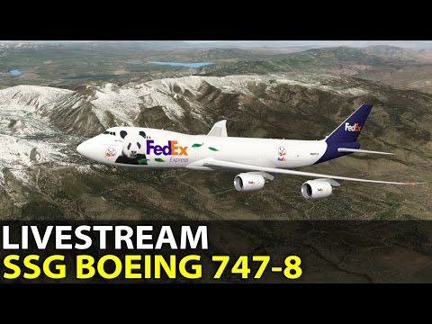 [Livestream] Heavy Online Traffic in the SSG Boeing 747-8 ✈️ 2016-10-02