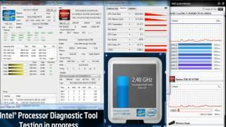 hp dv6 6170 sl termal test
