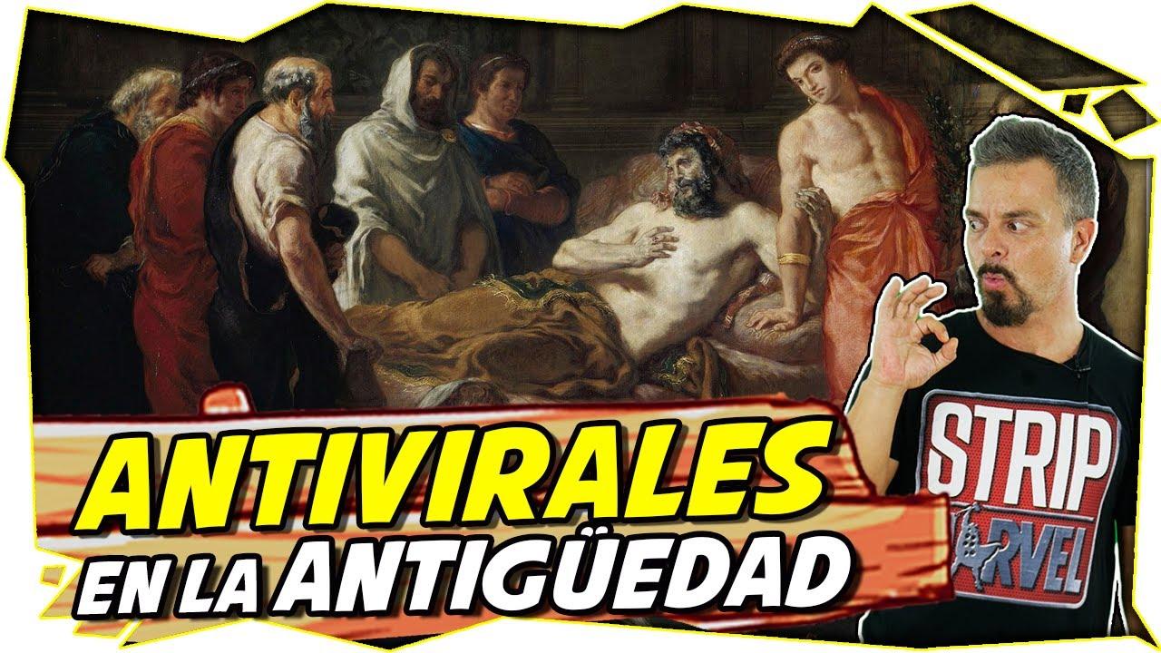 La PLATA y el COBRE, los ANTIVIRALES de la ANTIGÜEDAD