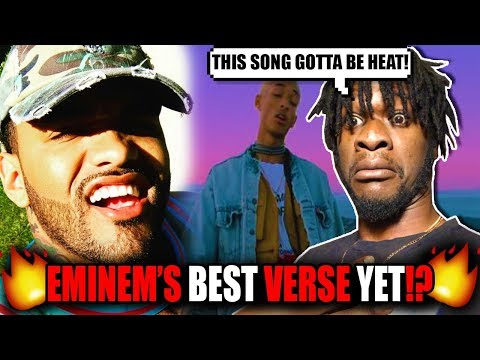"""Eminem is the 3rd Verse, They Are Not Ready For This"" Joyner Lucas & Jaden Smith ""Stan 2"" REACTION!"