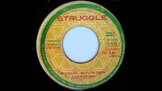 7'' Liberators - Racial Situation (& Dub)