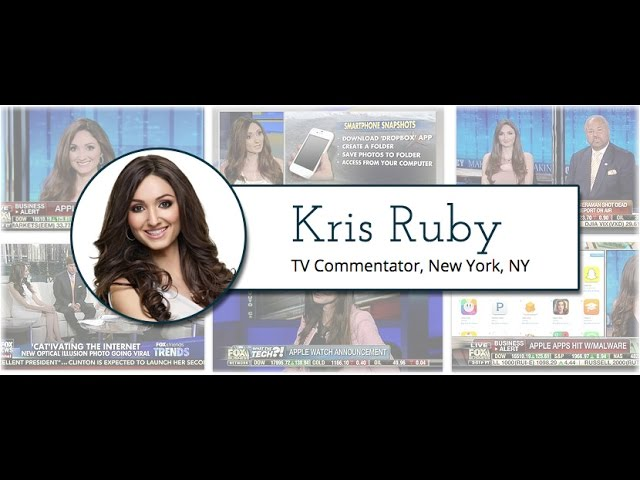 TV Commentator Kris Ruby Sizzle Reel
