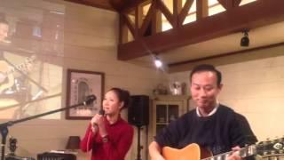 2012.12.3 オールドニュー・カフェ(三重県伊賀市)のフリーライブにて...
