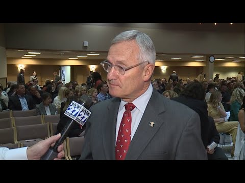 WATCH: YSU President Jim Tressel Discusses Bo Pelini Leaving As Head Football Coach