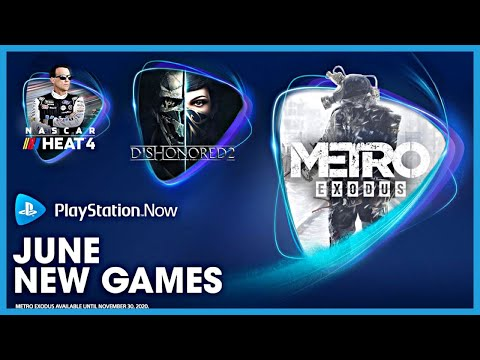 PS NOW JUNE 2020 | Playstation Now New Games For June 2020