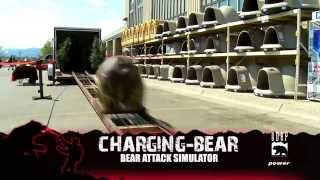 Charging Bear- Bear Attack Simulator from UDAP Bear Spray