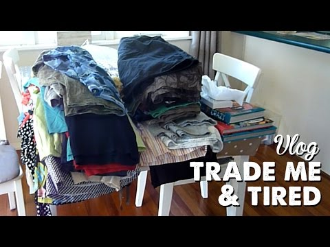 Vlog: TradeMe & Tired   A Thousand Words