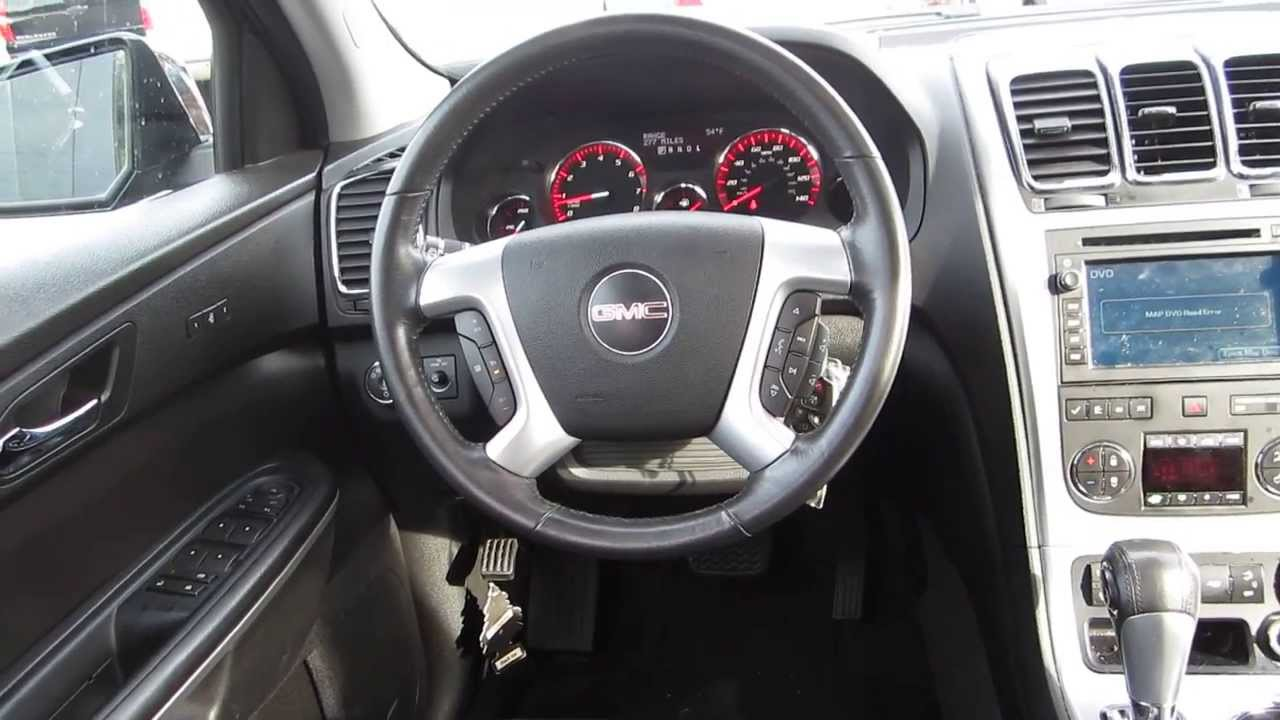 2008 Gmc Acadia Interior Images Galleries With A Bite