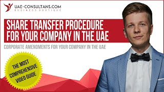 How To Make Share Transfer In Your Company In The Uae?