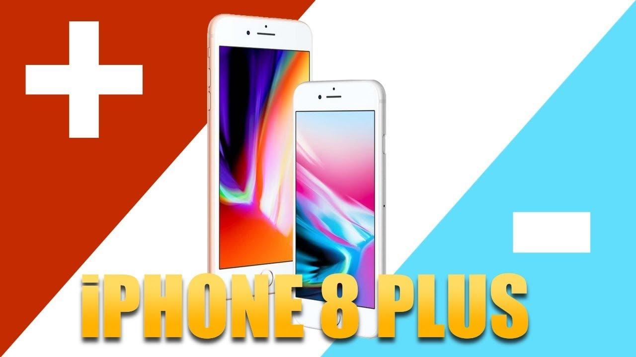 iPhone 8 Plus: 3 PLUSY i 3 MINUSY