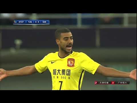2018 AFC CL   1/16 Final   Tianjin QuanJian vs Guangzhou Evergrande Taobao FC