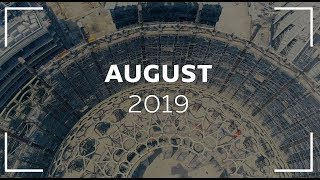 Expo 2020 Drone Footage - August 2019