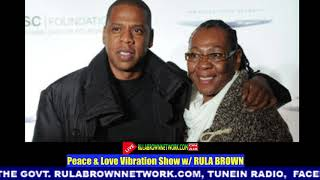 JAY-Z's MOM, GLORIA CARTER COMES OUT & SAYS HE CRIED TO KNOW SHE IS FREE
