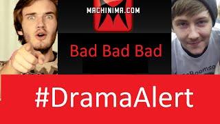 PewDiePie Roasts Machinima! #DramaAlert - Interview with Rossboomsocks