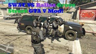 Grove Street SWAT Raid - (GTA V Mod)