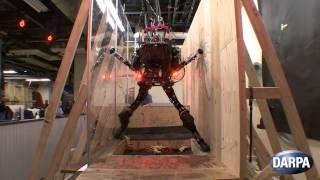 Darpa's Pet-proto Robot Navigates Obstacles