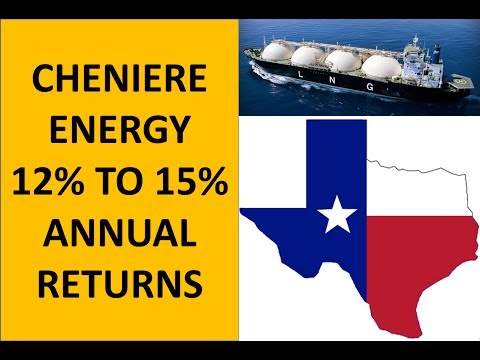 Cheniere Energy Offers 12% to 15% per Year as an Investment