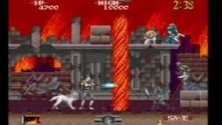 Shadow Dancer On SEGA Mega Drive (Genesis) Part 1