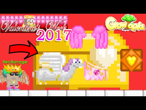 How to get Valentine's items for FREE! | Growtopia (2017)