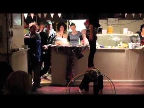 Spirulina Ballerina Performance at My Goodness Cafe Cork